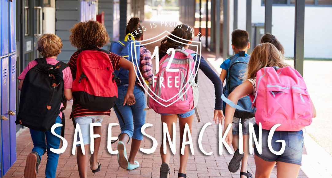 SAFE SNACKING - ALLERGY FRIENDLY GERBS