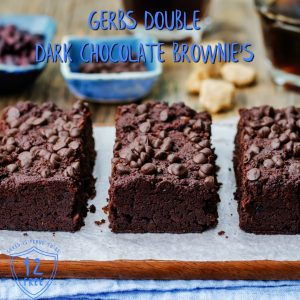Double Dark Chocolate Brownies Recipe