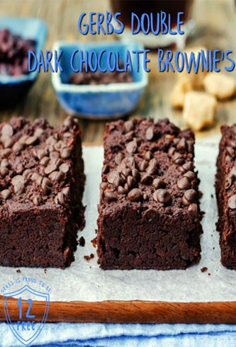 Gerbs Dark Chocolate Brownies Recipe