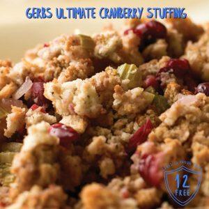 Gerbs Ultimate Cranberry Turkey Stuffing Recipe