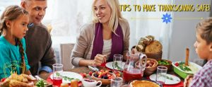 Tips to make Thanksgiving Safe