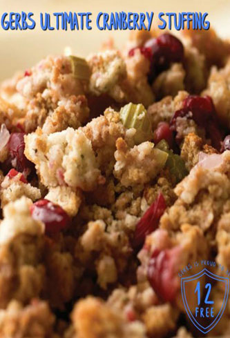 Gerbs Ultimate Cranberry Turkey Stuffing