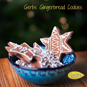 Gerbs Gingerbread Cookies