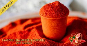 Gerbs Chili Powders are Hot & Healthy