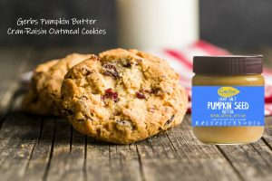Gerbs Pumpkin Butter Cran-Raisin Oatmeal Cookies Recipe
