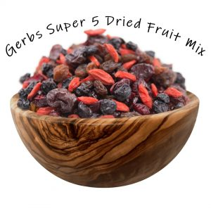 Gerbs Super 5 Dried Fruit Mix
