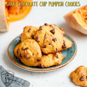 Gerbs Dark Chocolate Chip Pumpkin Cookies