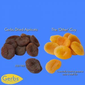 health benefits of gerbs dried apricots