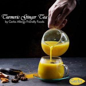 gerbs turmeric ginger tea