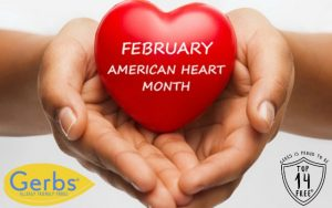 Top Gerbs Heart Healthy Foods in Recognition of American Heart Month