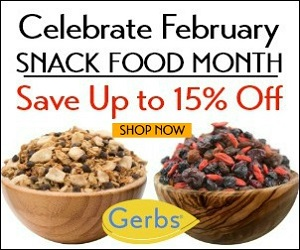 Up to 15% Sale By Gerbs Allergy Friendly Foods