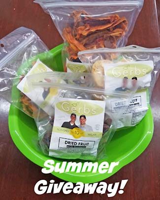Summer Basket Facebook Giveaway by Gerbs Allergen Friendly Foods