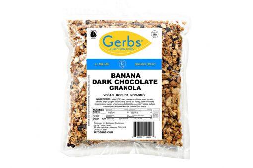 banana dark chocolate granola