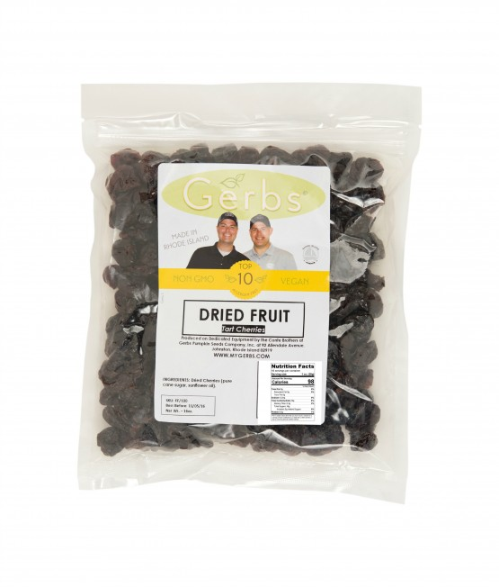Dried Cherries – Sweetened Bag Shot