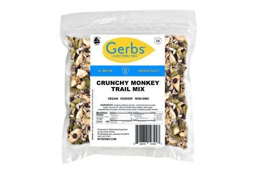 crunchy monkey snack mix trail
