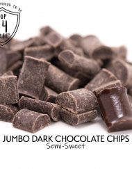 Dark Chocolate Chips Jumbo Size