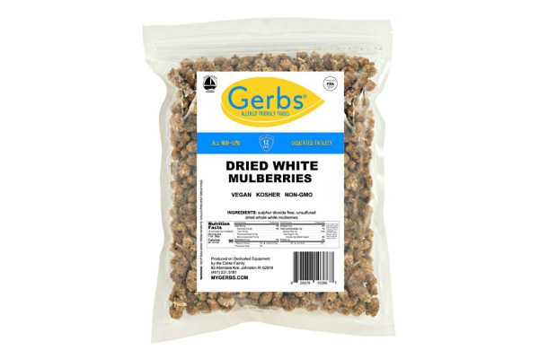 dried mulberries white no added sugar