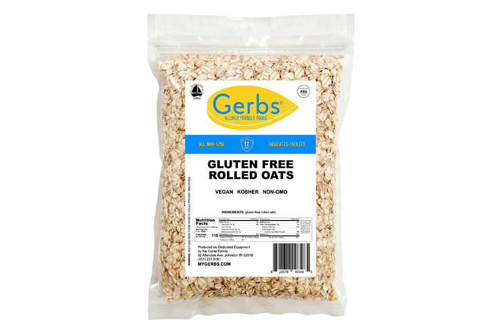 Rolled Oats Traditional Style Allergy Friendly Foods Mygerbs