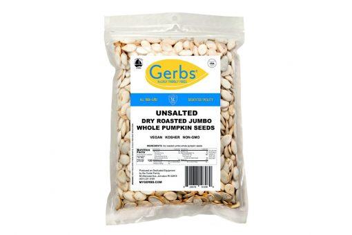 jumbo unsalted roasted in shell pumpkin seeds