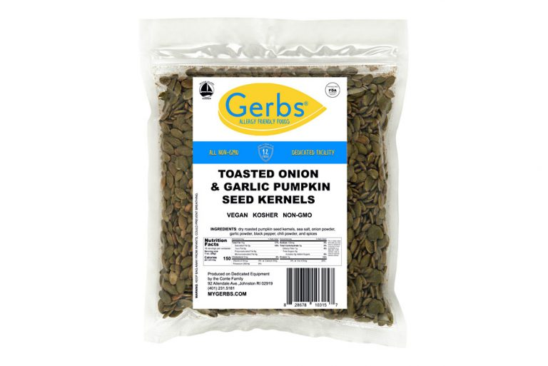 toasted onion & garlic roasted pumpkin seed kernels