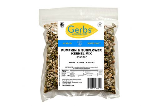 unsalted pumpkin & sunflower kernel seed mix