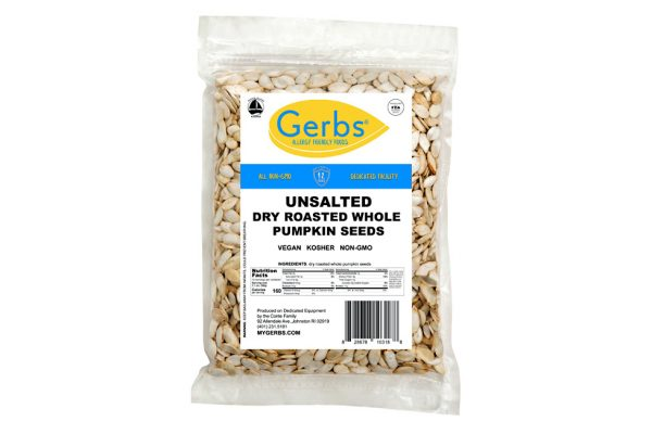 unsalted roasted in shell whole pumpkin seeds