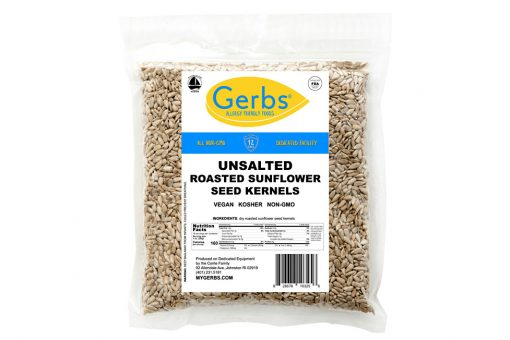 unsalted roasted sunflower seed kernels