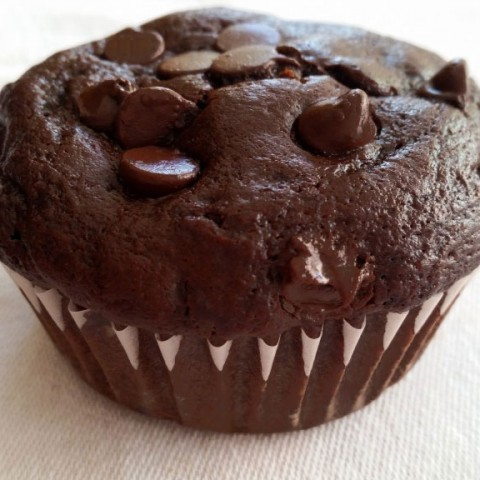 GERBS DOUBLE CHOCOLATE CHIP GLUTEN FREE MUFFIN