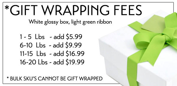 ALLERGEN FRIENDLY GERBS GIFT WRAPPING SERVICE