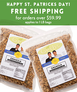 FFREE SHIPPING ORDERS OVER $59.99 AT GERBS