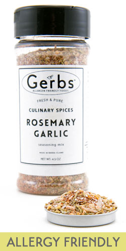GERBS ALLERGY FRIENDLY SPICES