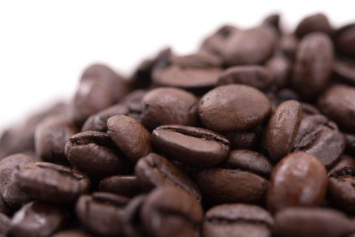 Gerbs French Roast Whole Coffee Beans Close up