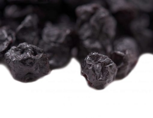 Dried Cape Cod Blueberries Close up