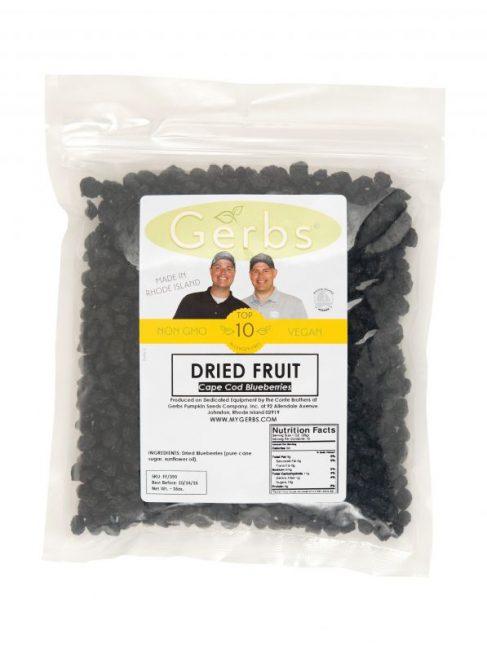 Dried Cape Cod Blueberries Bag