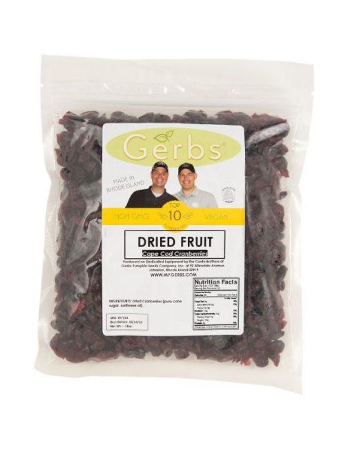 Dried Cape Cod Cranberries Bag