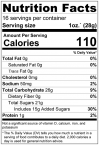 Dried Mango - Sweetened Slices Nutrition Facts