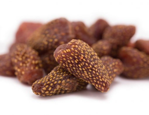 Dried Strawberries Close up