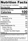 Dried Strawberries Nutrition Facts