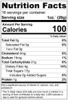 Figs & Dates Dried Fruit Medley Nutrition Facts
