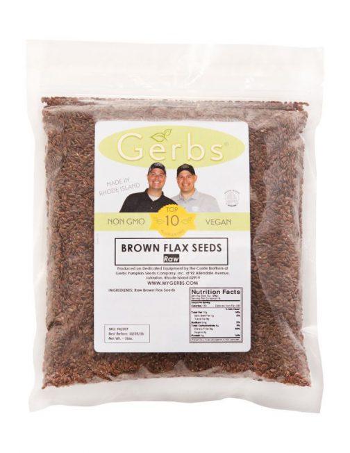 Raw Flax Seeds Bag