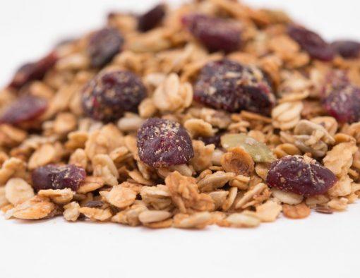 Cranberry Harvest Granola Close up