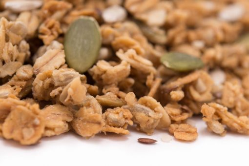 Super Seeds Granola Close up