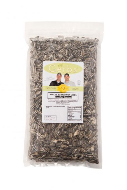 Unsalted Dry Roasted In Shell (whole) Sunflower Seeds Bag