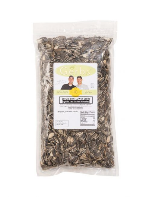 Lightly Sea Salted Dry Roasted In Shell (whole) Sunflower Seeds Bag