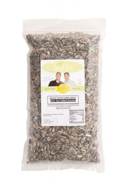 Salt Lovers Dry Roasted In Shell (whole) Sunflower Seeds Bag