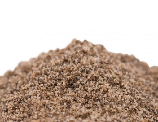 Chia Seed Meal - Full Oil Content Protein Powder Close up