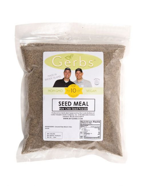 Chia Seed Meal - Full Oil Content Protein Powder Bag