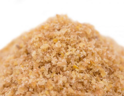 Flax Seed Meal - Full Oil Content Protein Powder Close up