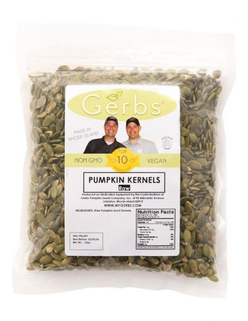 Raw Pumpkin Seed Kernels - Shelled Pepitas Bag