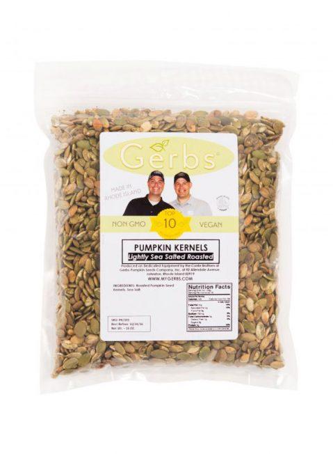 Lightly Sea Salted Dry Roasted Pumpkin Seed Kernels - Shelled Pepitas Bag